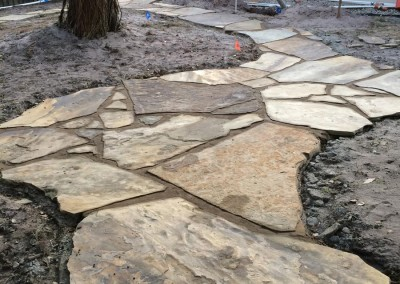 Flagstone-Path-in-progress
