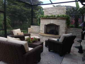 Outdoor-Fireplace-under-Lanai