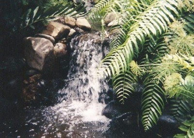 backyard-waterfall