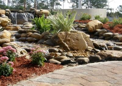 custom-designed-waterfall-and-stream
