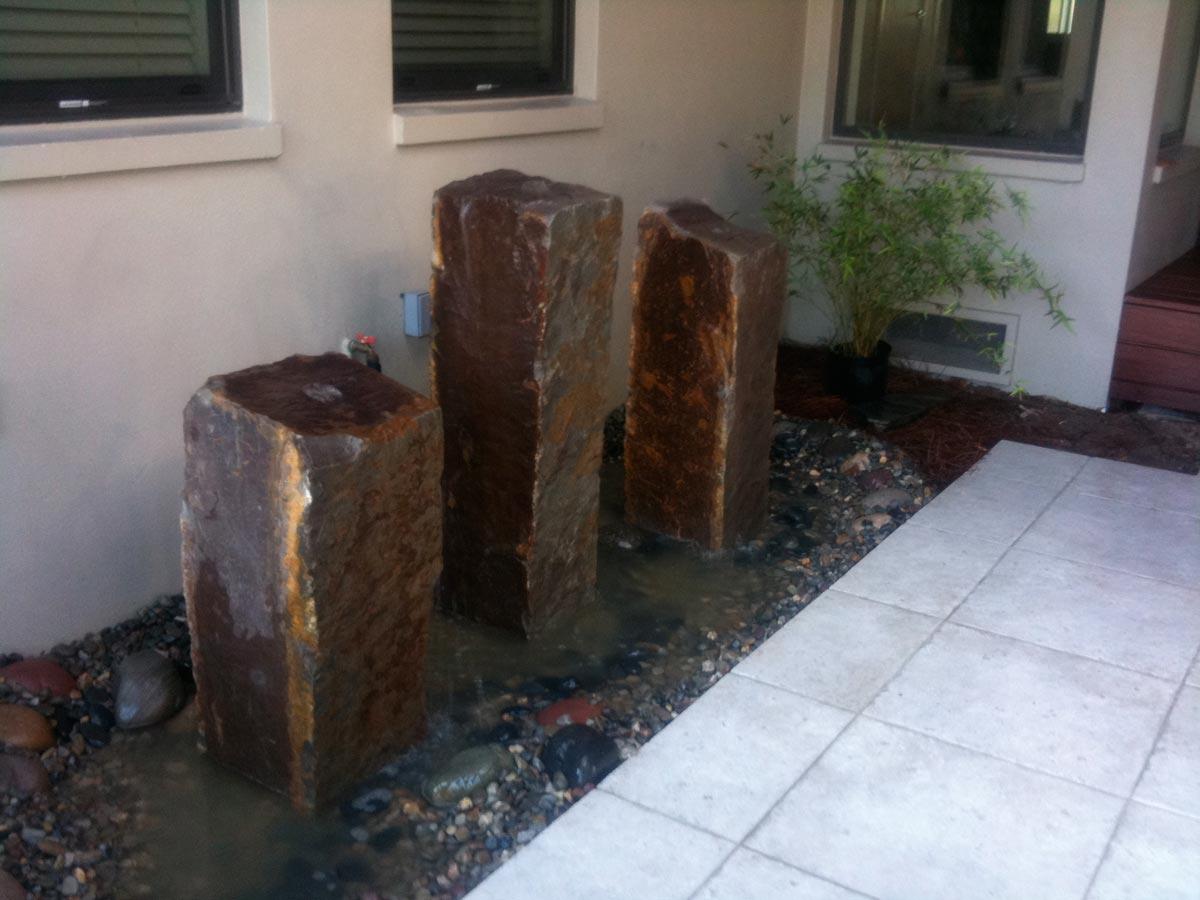 water features backyard builders